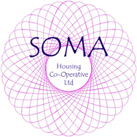 logo of SOMA Housing Co-Operative Ltd and link to their web site